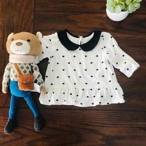 Peter Pan collar The Children's Place Blouse